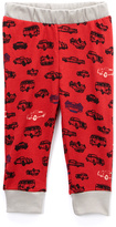 Baby Nay Red Cars Sweatpants - Infant