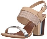 Lola Cruz Women's Stacked Heel Sandal
