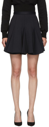 Off-White Black Cheerleader Miniskirt