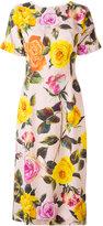 Dolce & Gabbana Cady dress - women - Silk/Spandex/Elastane/Viscose - 46