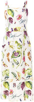 ADAM by Adam Lippes botanical print dress - women - Nylon/Polyester/Viscose - 2