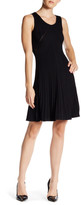 Anne Klein Rib Knit A-Line Dress