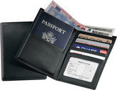 Royce Leather Passport Currency Wallet 222-5