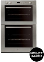 Whirlpool AKW301IX Built In Electric Double Oven - Stainless Steel