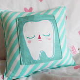 Julia Staite Striped Tooth Pillow