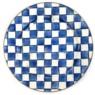 Mackenzie Childs Mackenzie-Childs Royal Check Serving Platter
