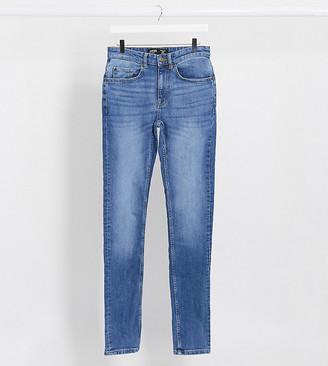 Burton Menswear Big & Tall skinny jeans in bright blue