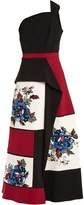 Roland Mouret Baldersby floral-embroidered crepe dress