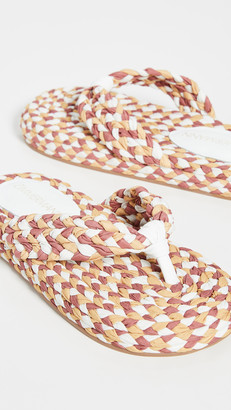 Zimmermann Cotton Braid Sandals