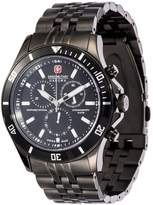 Swiss Military Hanowa Flagship Chronograph Watch Schwarz