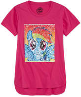 Hasbro Crew Neck Short Sleeve My Little Pony Blouse - Big Kid Girls