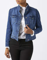 Monsoon Fern Frill Denim Jacket