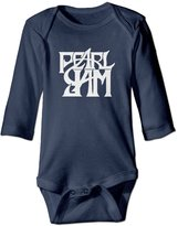 Bob Daph Unisex Pearl Jam Vitalogy Baby Onesies Outfits Sleepwear Long Sleeve