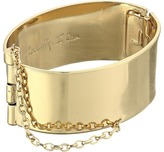 Rebecca Minkoff Handcuff with Chain Bracelet Bracelet
