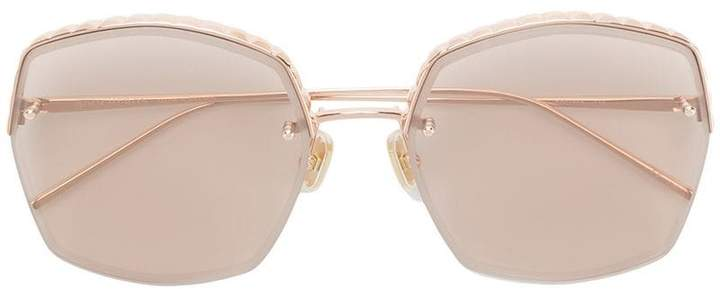 Boucheron Eyewear square frame sunglasses