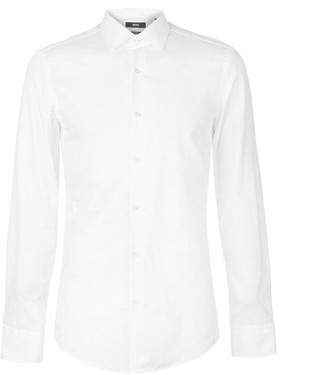 HUGO BOSS Linen Shirt Mens