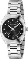 Gucci YA142503 GG2570 stainless steel and diamond watch