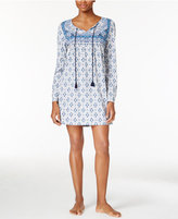 Lucky Brand Mixed-Print Knit Sleepshirt