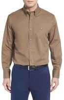 Nordstrom Smartcare TM Traditional Fit Twill Boat Shirt (Regular & Tall)