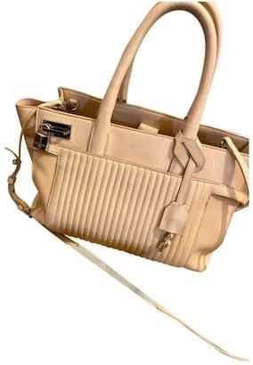 Zadig & Voltaire Candide Ecru Leather Handbags