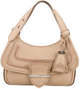 Michael Kors Braided & Whipstitched Leather Satchel