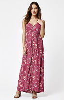 Billabong First Dreamer Floral Print Maxi Dress