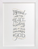 Minted Peacemaker Art Print
