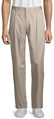 HUGO BOSS Paton Pleated Cotton Pants