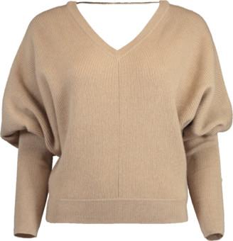 Brunello Cucinelli Cashmere Bubble Sleeve Pullover