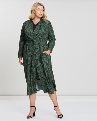 Hope & Harvest Raddison Silk-Touch Duster