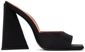 ATTICO Black Devon Heeled Sandals