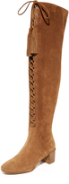 Michael Kors Harris Lace Up Over the Knee Boots