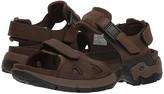 Mephisto Alligator (Brown Waxy Leather/Dark Brown Neoprene) Men's Sandals