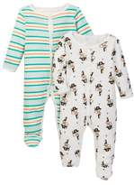 Rosie Pope X Marks the Spot Footies - Pack of 2 (Baby Boys)
