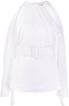 Erika Cavallini Cold Shoulder Blouse