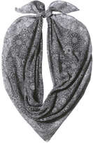 Joe Fresh Women's Square Scarf, Black (Size O/S)