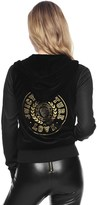 Juicy Couture Velour Mix Quilted Robertson Jacket