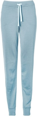 Smalls Merino Women's 100% Traceable Ultrafine Italian Spun Merino Trouser In Pacific