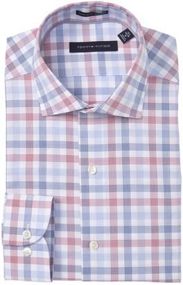 Tommy Hilfiger Plaid Regular Fit Dress Shirt