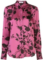 Equipment floral patterned shirt