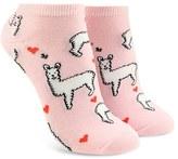 Forever 21 FOREVER 21+ Llama Love Ankle Socks