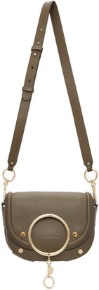 See by Chloe Khaki Mara Crossbody Bag