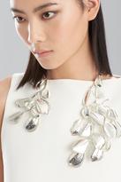 Josie Natori Hammered Metal Necklace
