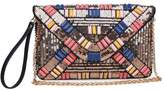 Urban Expressions Jazz Beaded Clutch