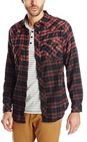 Burnside Men's Duck Dip Dye Flannel Shirt