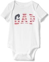 Gap Americana logo bodysuit