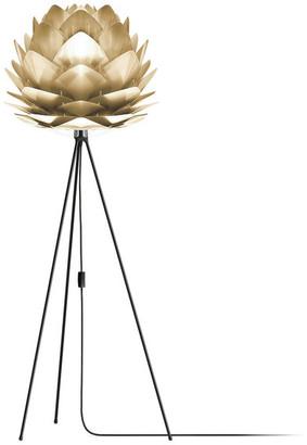 "Vita Copenhagen Silvia 60"" Tripod Floor Lamp, Black/Brushed Brass"
