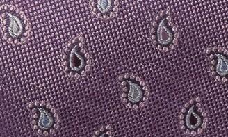 Nordstrom Flynn Pine Paisley Silk Tie