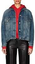 MM6 MAISON MARGIELA Women's Denim Oversized Trucker Jacket