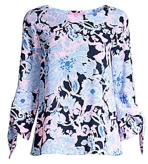 Lilly Pulitzer Women's Langston Floral Top